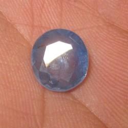 Light Blue Round Ceylon Sapphire 3.43 cts