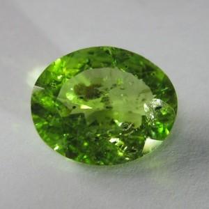 Batu Peridot Pakistan 5.14cts