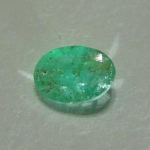 "Zamrud Oval 0.54 carat ""Green Garden Emerald"""