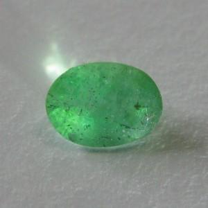Batu Zamrud Oval 1.25 carat