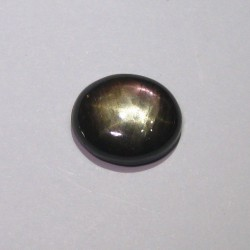 Natural Star Sapphire Black 11.33 cts