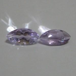2 Pcs Batu Kecubung Marquise