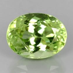 Batu Peridot Oval 4.8 carat