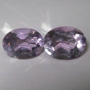 Batu Kecubung Pasangan Oval 2.4 carat