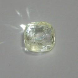 Batu Permata Light Yellow Sapphire 2.19 cts