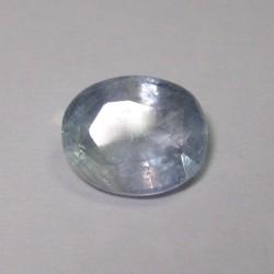 Light Greyish Blue Sapphire 2.59cts Luster Berkerlip