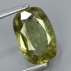 Safir Hijau Cushion Cut 1.51 carat