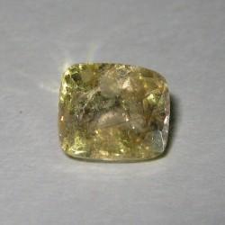 Batu Permata Safir Kuning Muda 2.43 cts