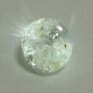 Colorless White Sapphire 2.59 cts