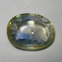 Light Bluish Green Sapphire 3.12 cts