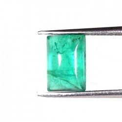 Natural Green Emerald Octagon Cut 1.2 carats