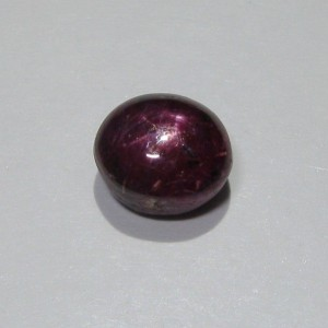 Ruby Star Oval Cab 4.35 cts