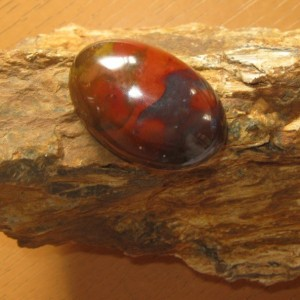 Batu Panca Warna Gambar Elang Gunung 59.5 carat