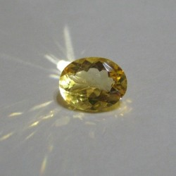 Orangy Yellow Citrine 2.06 carat