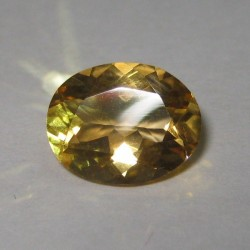 Orangy Yellow Citrine 2.06 carat