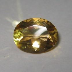 Orangy Yellow Citrine 2.06 carat dijual khusus untuk yang mementingkan kualitas