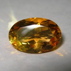Yellow Orange Citrine 3.27 cts