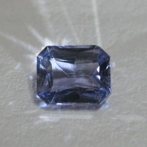 Light Violetish Blue Spinel 1.32 cts batu permata cantik