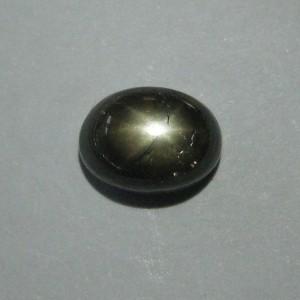 Black Star Sapphire 2.53 cts luster tajam dan jelas