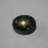 Natural Black Star Sapphire 2.58 cts