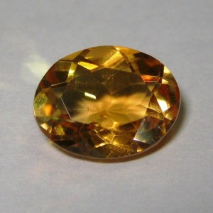 Batu Mulia Citrine Orangy Yellow 2.24cts