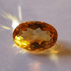Orangy Yellow Citrine 2.86 carat