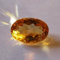 Orangy Yellow Citrine 2.86 carat