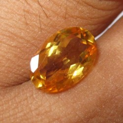 Natural Citrine Oval 3.23 cts
