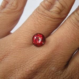 Round Shape Almandite Garnet 2.62 cts untuk cincin exclusive