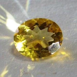 Natural Citrine Oval 2.51cts