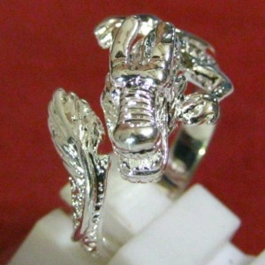 Dragon Silver Ring 9US