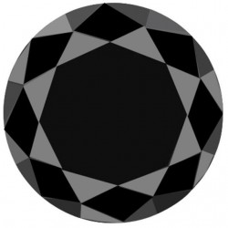Black Moissanite 46.4 carat