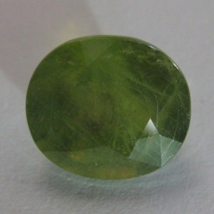 Batu Permata Natural Green Sapphire 5.52 carat