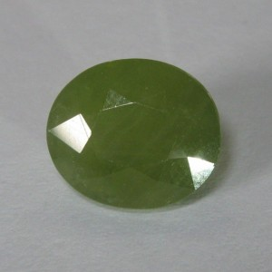 Natural Sapphire 4.82cts Yellowish Green
