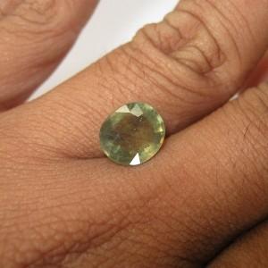 Oval Green Sapphire 4.13cts Hijau Bening
