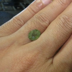 Natural Green Sapphire 3.99 cts