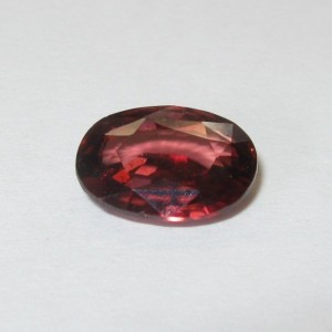 Oval Pinkish Orange Zircon 2.83 cts