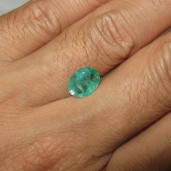 Natural Emerald Oval 1.48cts