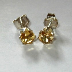 Anting Citrine Silver 925
