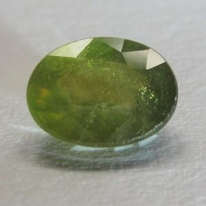 Yellow Green Sapphire 2.50 carat