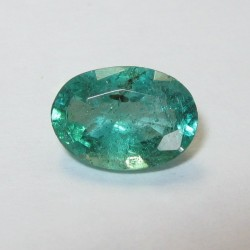 Medium Dark Green Emerald 0.7cts
