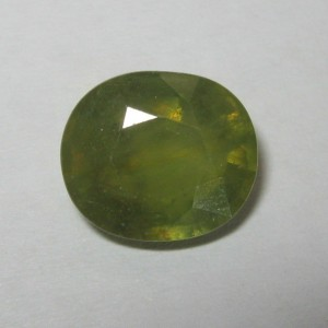 Natural Green Sapphire 3.62cts