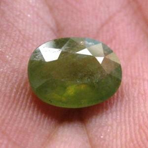 Green Sapphire 3.05 carat