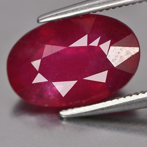 Purplish Red Ruby 4.81cts