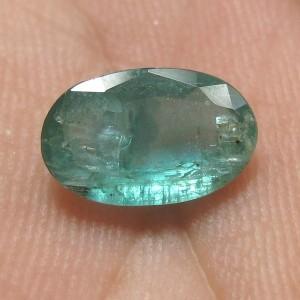 Batu Zamrud Oval Antik 1.69cts
