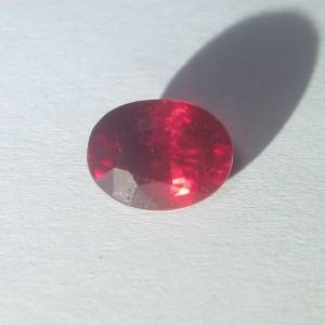 Batu Permata Ruby 2.22cts Kualitas Bagus!