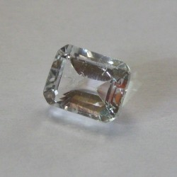 Rectangular White Topaz 3.3 carat