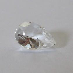 White Topaz Pear Shape 1.3 carat