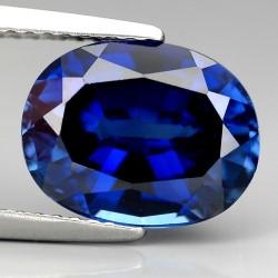 Oval Kashmir Blue Sapphire 5.02 carat