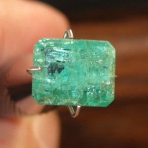 Rectangular Emerald 2.20 carat